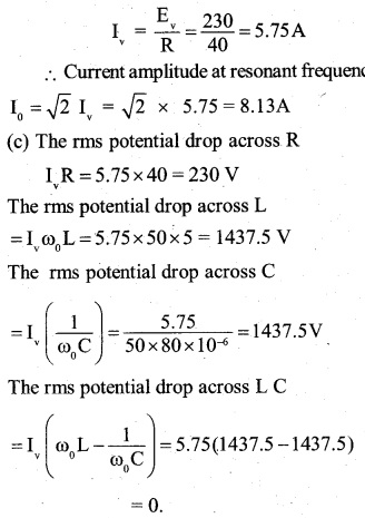 2nd PUC Physics Question Bank Chapter 7 Alternating Current 13