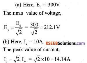 2nd PUC Physics Question Bank Chapter 7 Alternating Current 2