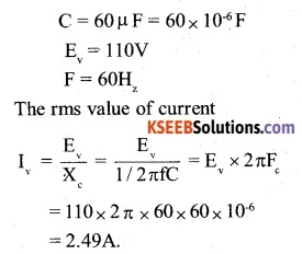 2nd PUC Physics Question Bank Chapter 7 Alternating Current 4