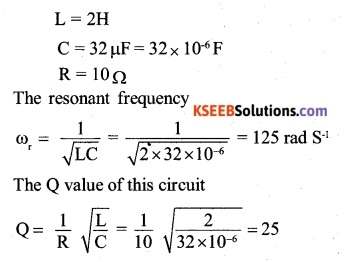 2nd PUC Physics Question Bank Chapter 7 Alternating Current 6