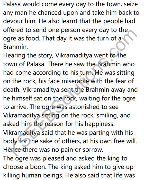 2nd PUC Sanskrit Textbook Answers Shevadhi Chapter 2 परेषामपि रक्ष जीवितम् 21
