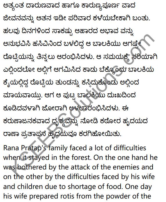 2nd PUC Sanskrit Textbook Answers Shevadhi Chapter 5 महाराणाप्रतापः 19