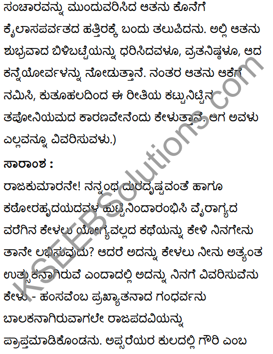 अनुरागोदयः Summary in Kannada 25