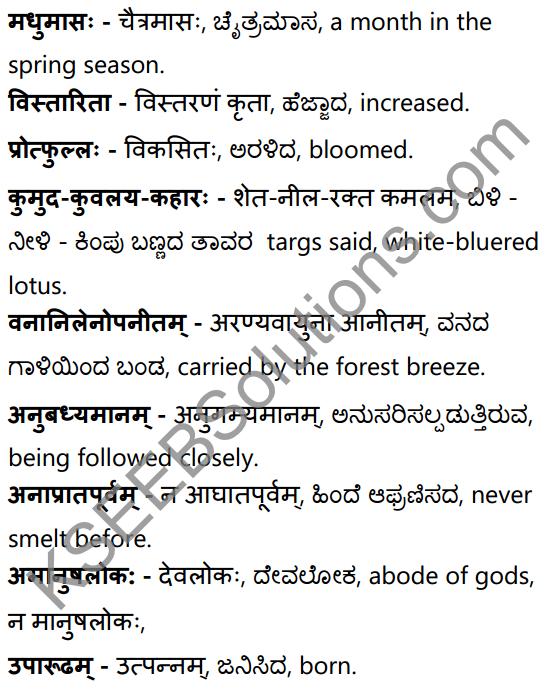 अनुरागोदयः Summary in Kannada and English 37