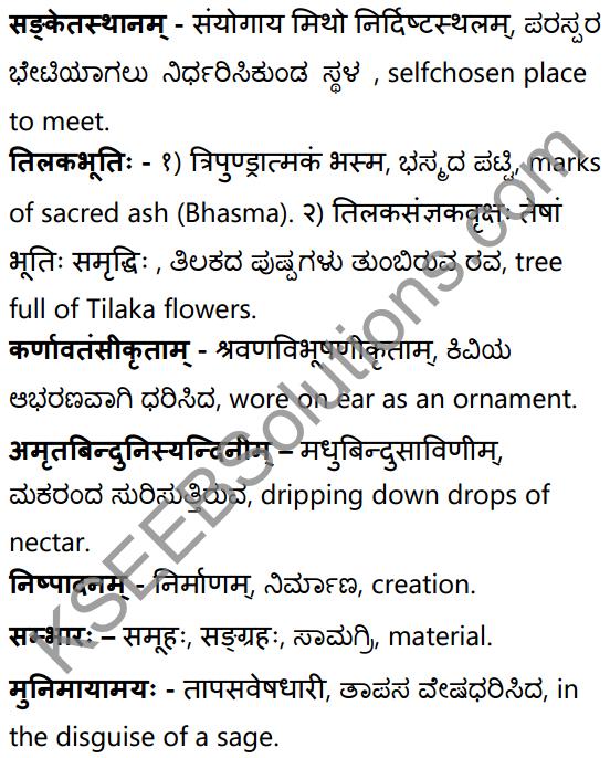 अनुरागोदयः Summary in Kannada and English 39