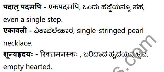 अनुरागोदयः Summary in Kannada and English 42