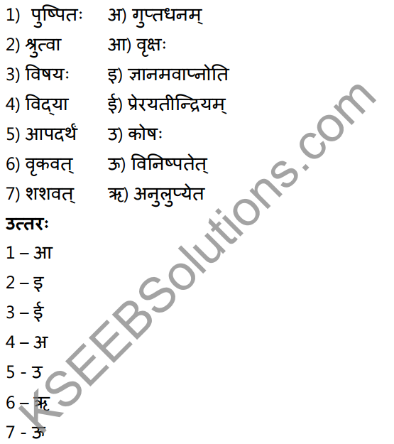 2nd PUC Sanskrit Textbook Answers Shevadhi Chapter 9 नीतिसारः 12