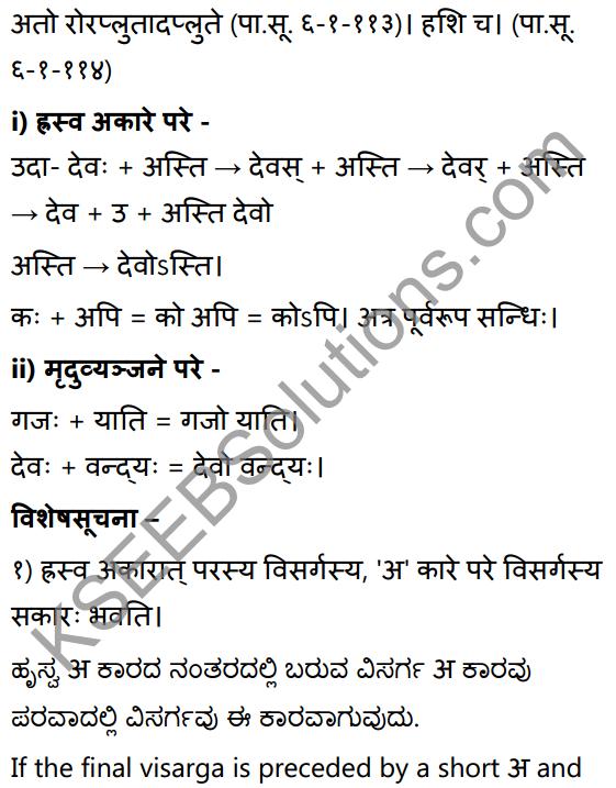 2nd PUC Sanskrit Textbook Answers Vyakaran सन्धिप्रकरणम् 7