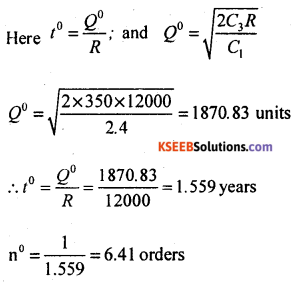 2nd PUC Statistics Model Question Paper 3 with Answers - 63