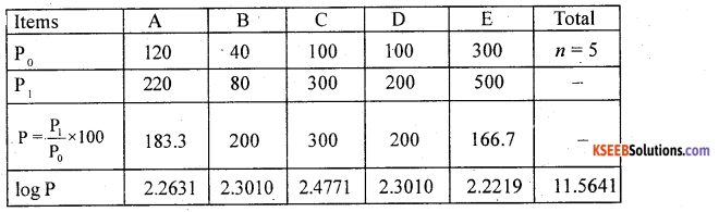 2nd PUC Statistics Previous Year Question Paper March 2018 - 10