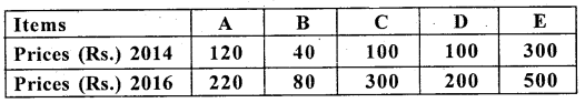 2nd PUC Statistics Previous Year Question Paper March 2018 - 9