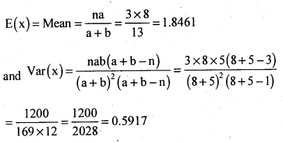 2nd PUC Statistics Question Bank Chapter 5 Theoretical Distribution - 108