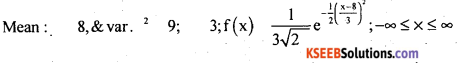 2nd PUC Statistics Question Bank Chapter 5 Theoretical Distribution - 11
