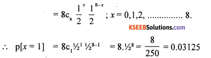 2nd PUC Statistics Question Bank Chapter 5 Theoretical Distribution - 34