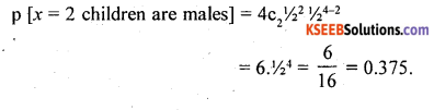 2nd PUC Statistics Question Bank Chapter 5 Theoretical Distribution - 39