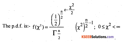 2nd PUC Statistics Question Bank Chapter 5 Theoretical Distribution - 4
