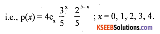 2nd PUC Statistics Question Bank Chapter 5 Theoretical Distribution - 43