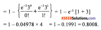 2nd PUC Statistics Question Bank Chapter 5 Theoretical Distribution - 50