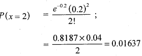 2nd PUC Statistics Question Bank Chapter 5 Theoretical Distribution - 60