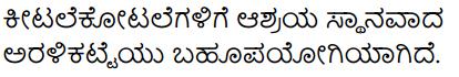 Aralikatte Summary in Kannada 7