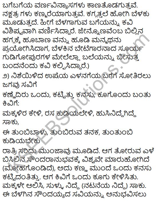 Belagu Jaava Summary in kannada 5