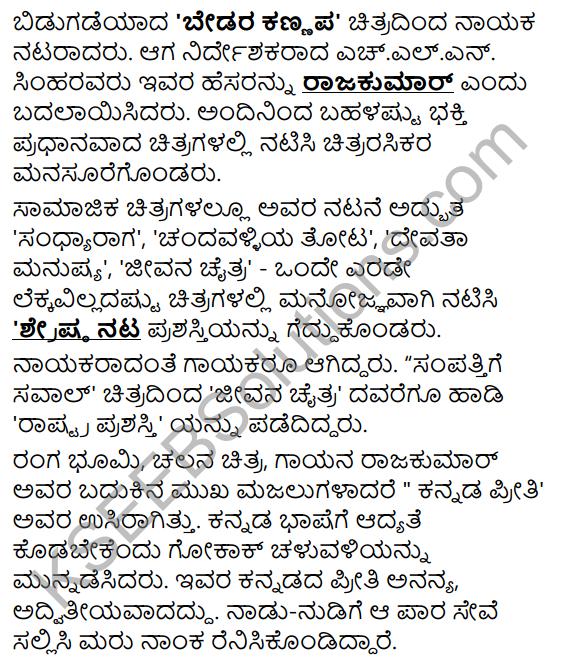 Da. Rajakumar Summary in Kannada 6