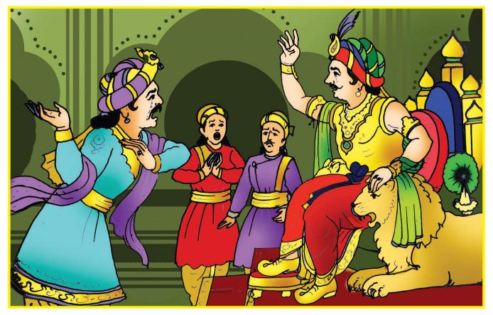 Gandharvasena Summary in Kannada 4