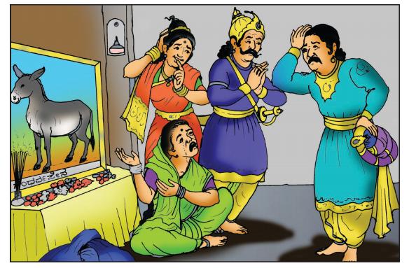 Gandharvasena Summary in Kannada 6