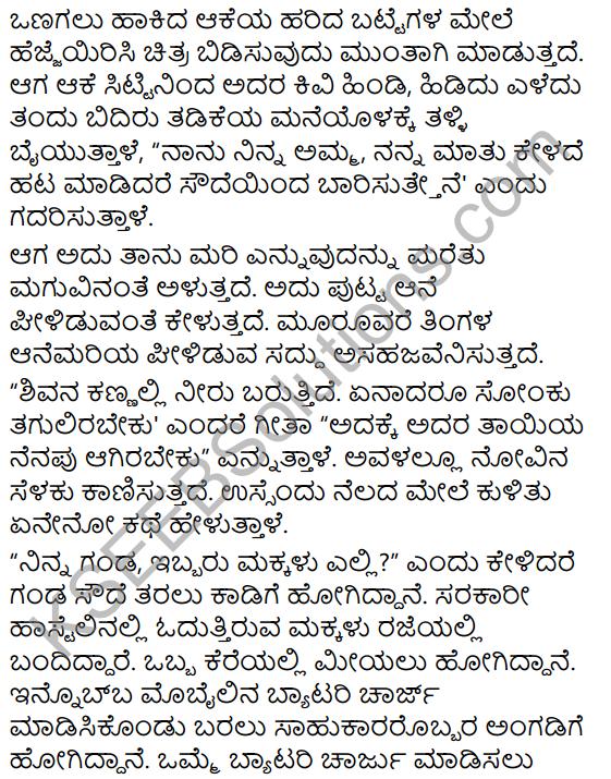 Jenu Kurubara Tayiyu Kadu Aneya Maganu Summary in Kannada 6