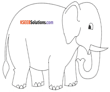 KSEEB Solutions for Class 5 English Poem Chapter 1 The Elephant 1