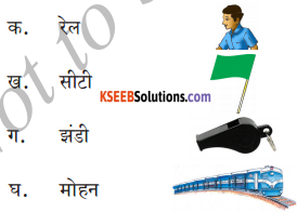 KSEEB Solutions for Class 6 Hindi Chapter 20 रेल का खेल 2