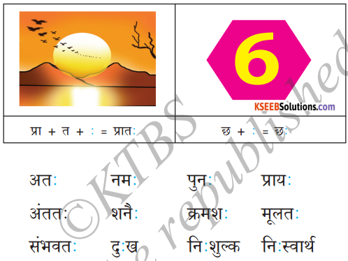 KSEEB Solutions for Class 6 Hindi Chapter 4 स्वर और उनकी मात्राएँ 13