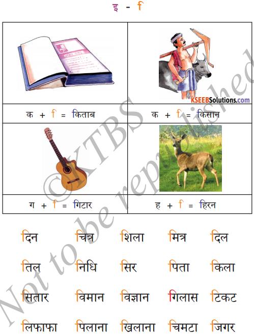 KSEEB Solutions for Class 6 Hindi Chapter 4 स्वर और उनकी मात्राएँ 2