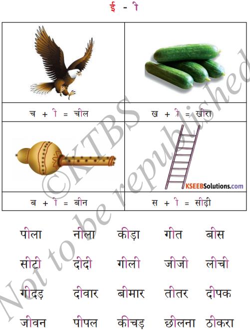KSEEB Solutions for Class 6 Hindi Chapter 4 स्वर और उनकी मात्राएँ 3