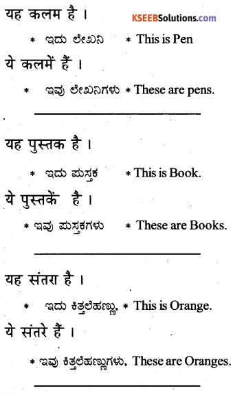 KSEEB Solutions for Class 6 Hindi Chapter 9 यह, ये, वह, वे 3