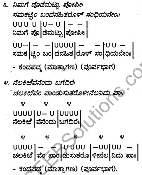 Karnataka SSLC Class 10 Siri Kannada Grammar Anvayika Vyakarana 93