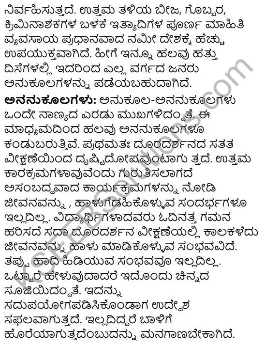 Karnataka SSLC Class 10 Siri Kannada Prabandha Lekhana 5