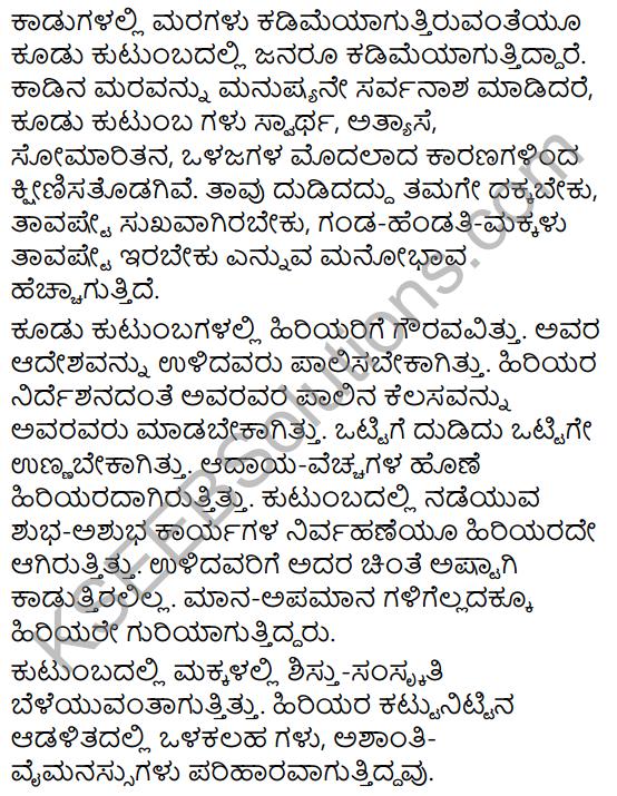Karnataka SSLC Class 10 Siri Kannada Prabandha Lekhana 73