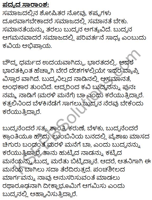Marali Manege Summary in Kannada 1