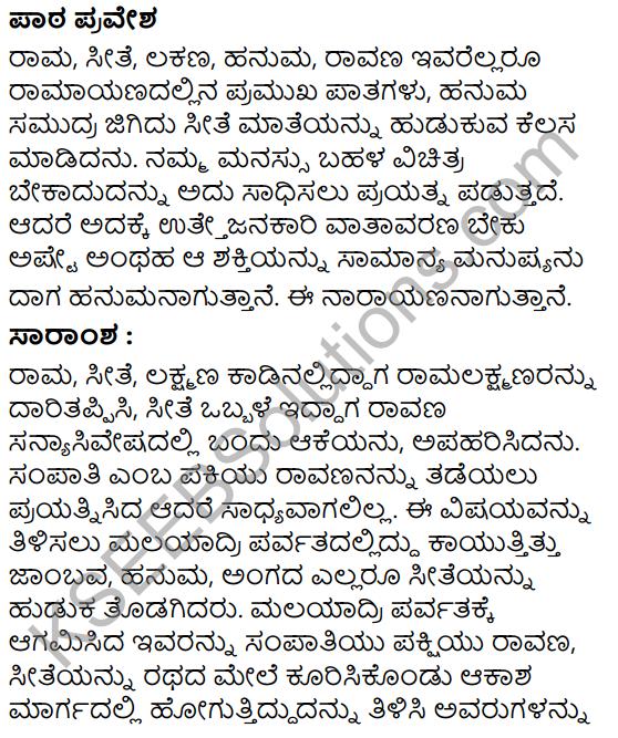 Ninnallu Adbhuta Shaktiyide Summary in Kannada 1