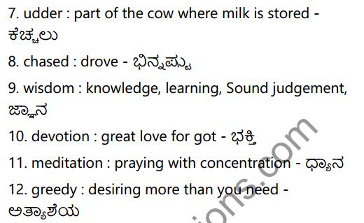 Shabale Summary In Kannada 6