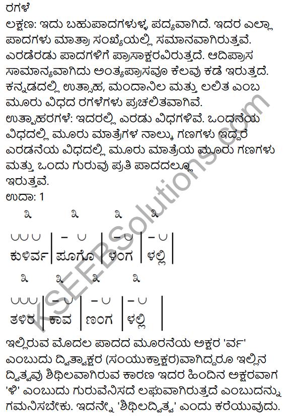Veeralava 10th Class Kannada Notes KSEEB Solutions