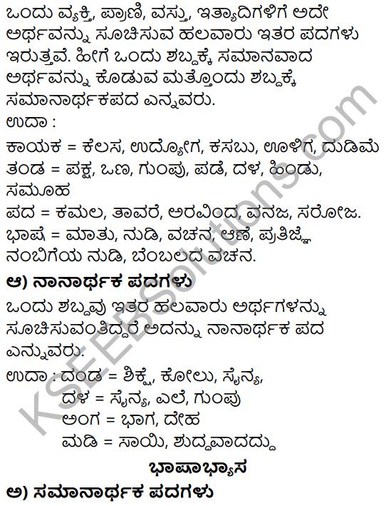 Siri Kannada Text Book Class 5 Solutions Gadya Chapter 8 Dheera Senani 5