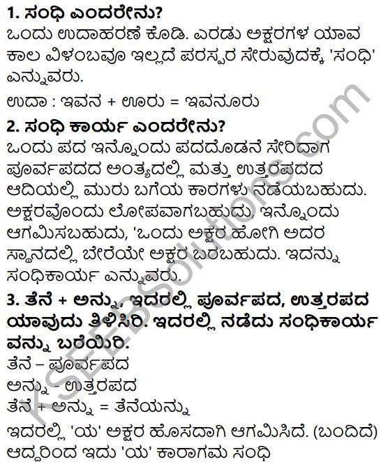 Siri Kannada Text Book Class 5 Solutions Padya Chapter 4 Kannada Kannada Barri Namma Sangada 4
