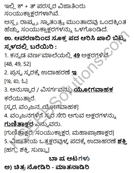 Siri Kannada Text Book Class 6 Solutions Gadya Chapter 1 Doddavara Dari 11