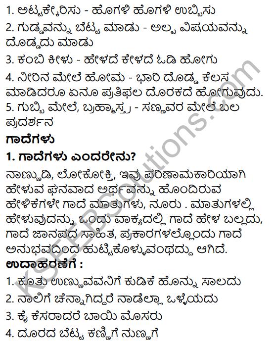 Siri Kannada Text Book Class 6 Solutions Gadya Chapter 3 Krishna Sudhama 6
