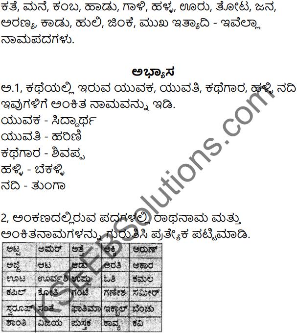 Siri Kannada Text Book Class 7 Solutions Gadya Chapter 1 Puttajji Puttajji Kathe Helu 11
