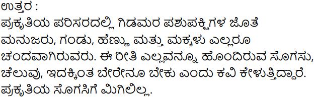 Siri Kannada Text Book Class 7 Solutions Puraka Patagalu Chapter 4 Ramya Srushti 3