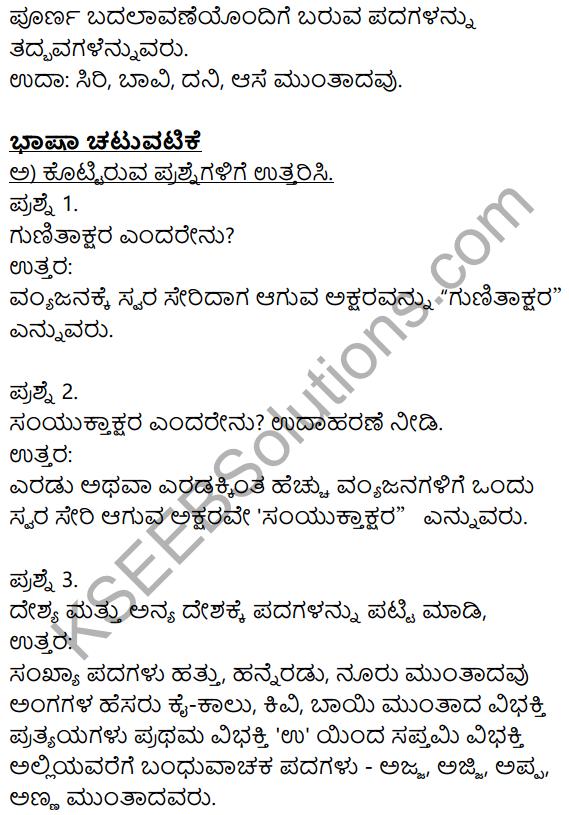 Siri Kannada Text Book Class 8 Solutions Gadya Chapter 2 Niru Kodada Nadinalli 10