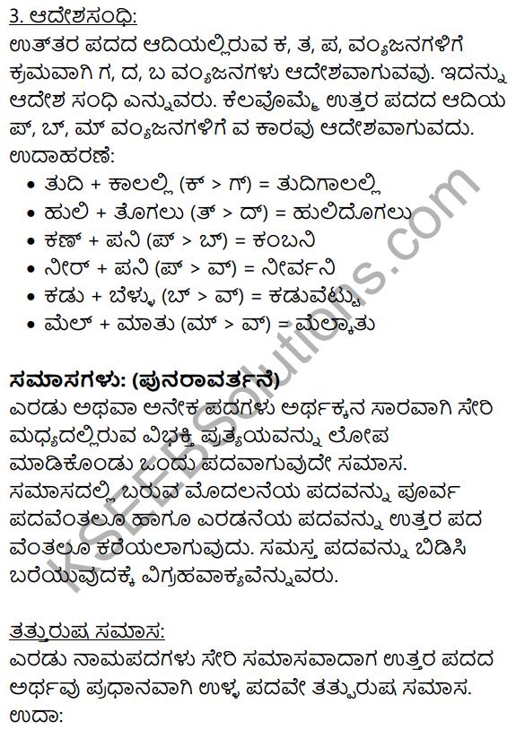 Kannada Moulvi Lesson KSEEB Solutions
